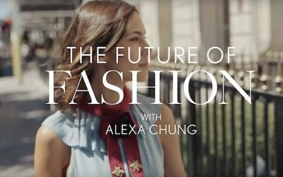 The future of fashion met Alexa Chung
