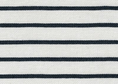 Bretonse streep wit-blauw
